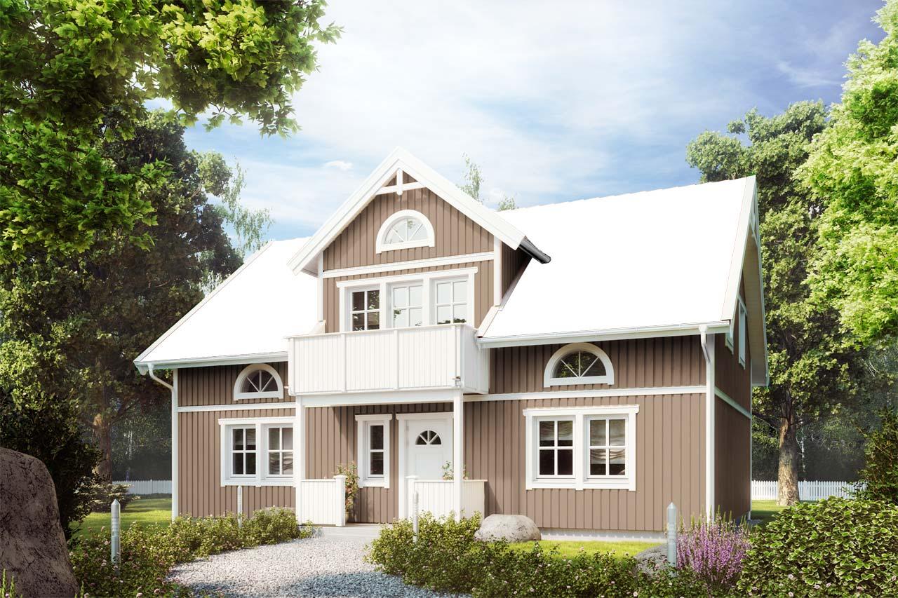 Schwedenhaus grau  Schwedenhaus bauen | Farbkonfigurator