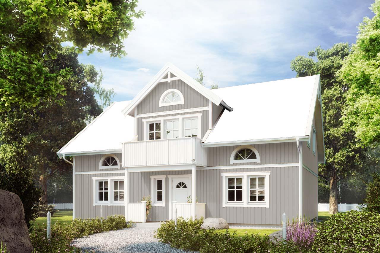Fassadenfarbe hellgrau  Schwedenhaus bauen | Farbkonfigurator