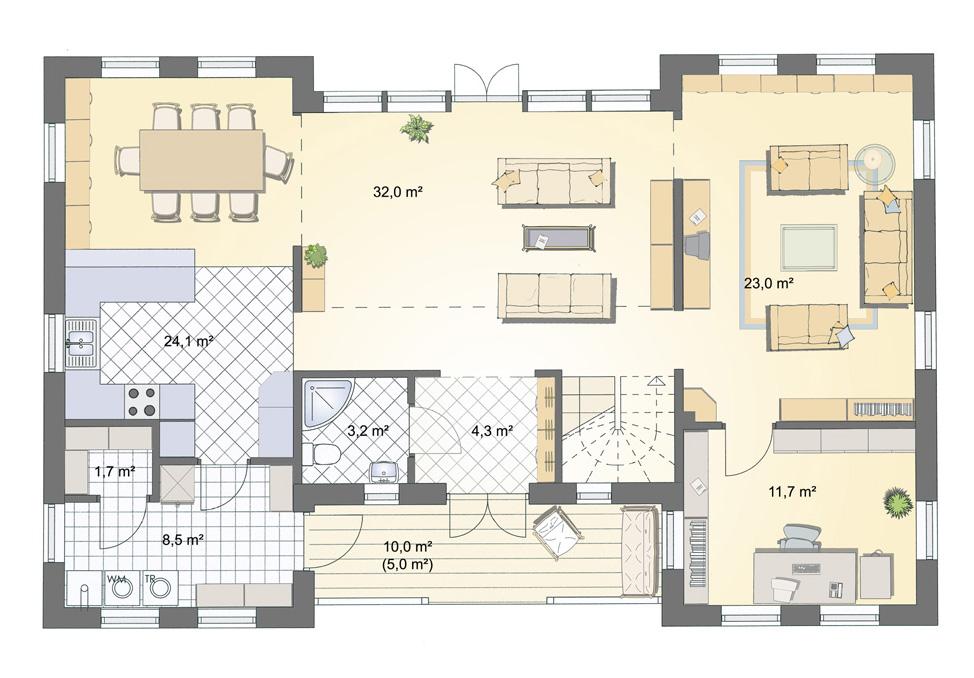 villa bogesund 197m. Black Bedroom Furniture Sets. Home Design Ideas