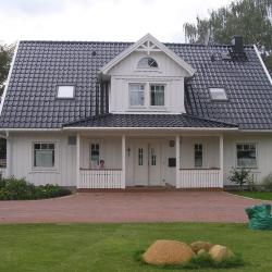 Schwedenhaus mit veranda  Schwedenhaus Galerie Schwedenhäuser Fotos schwedische Holzhäuser ...