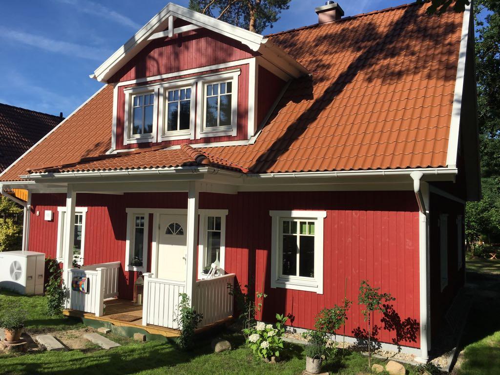 Astounding Musterhäuser Amerikanischer Stil Foto Von Mittlerweile Steht Unsere Wunderschöne Villa Stjärnsund In